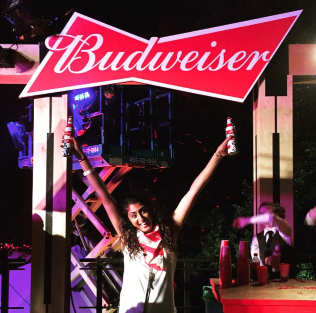 Budweiser Beechwood House, as seen on Instagram